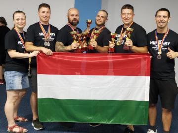 Deák Miklós háromszoros Európa-bajnok!